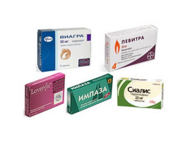 Какие таблетки принимать для повышения потенции
